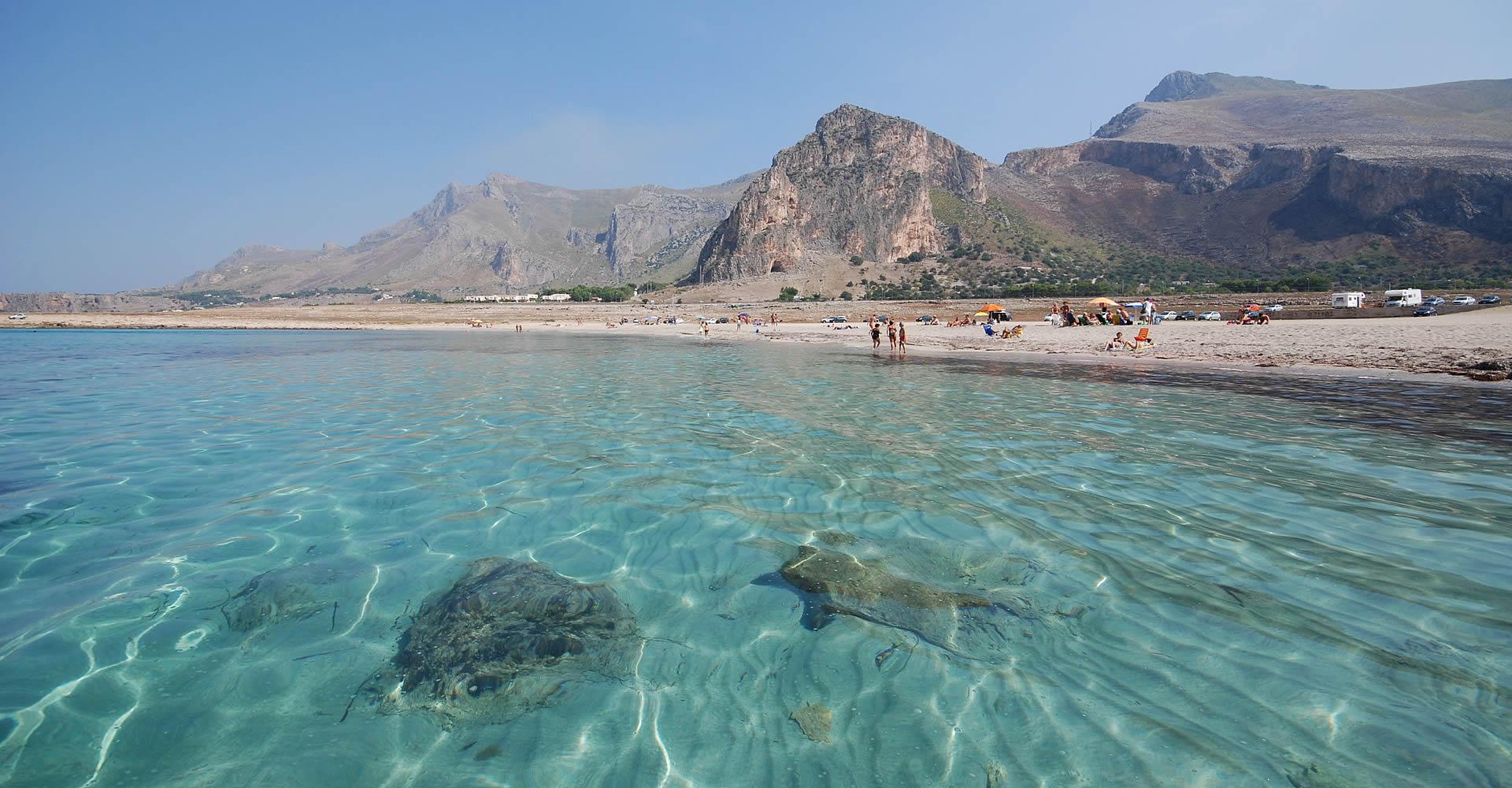 Il mare di Baia Santa Margherita - San Vito Lo Capo
